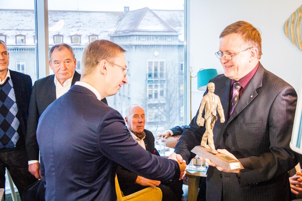 Noore juhi preemia sai AS Metaprint tegevjuht Martti Lemendik